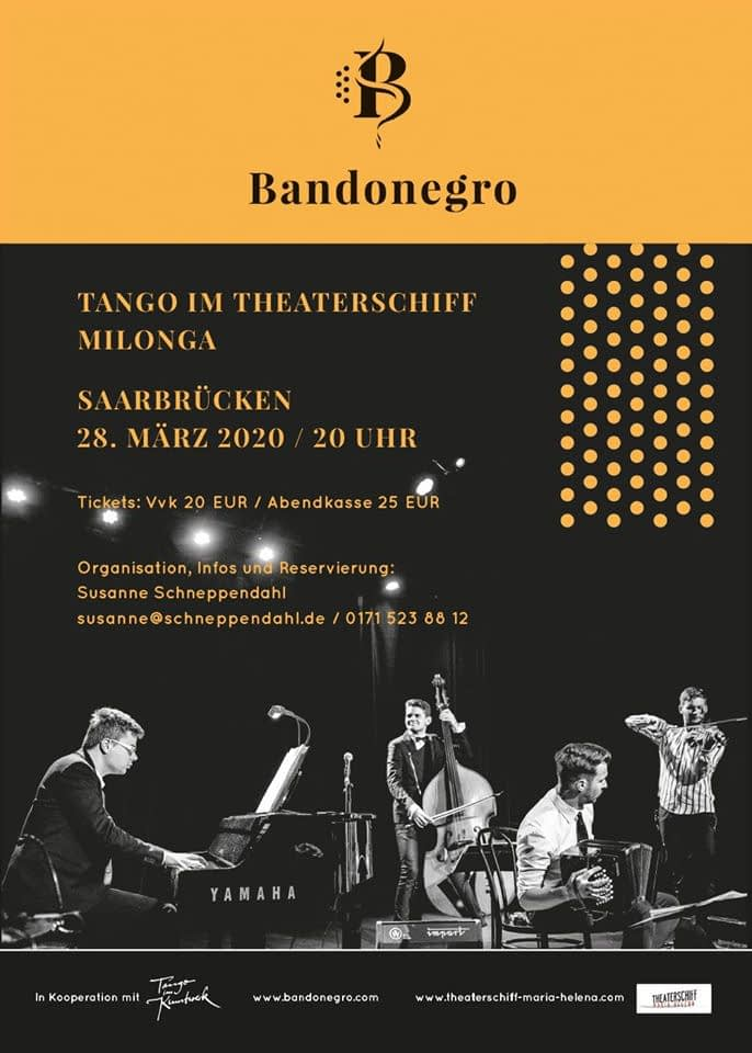 Tango im Theaterschiff