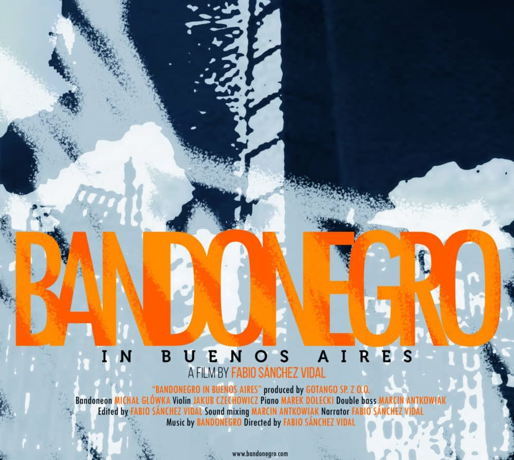 Bandonegro in Buenos Aires- FILM!